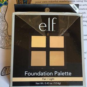 Elf foundation pallete
